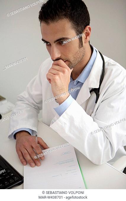 doctor, consultation