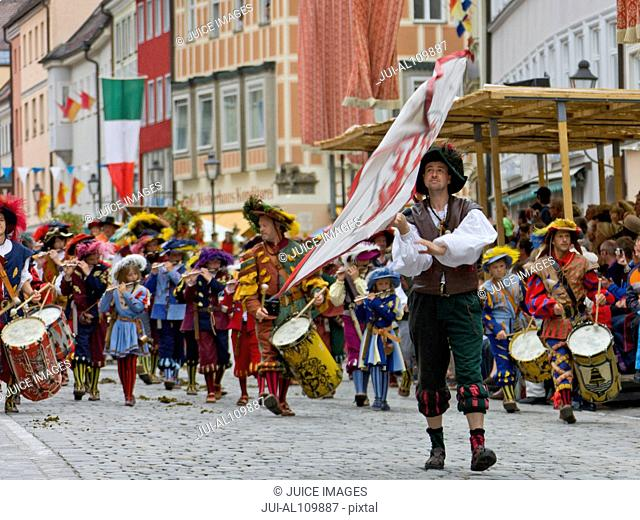 Rutenfestzug, Ravensburg, Baden-Wurttemberg, Germany