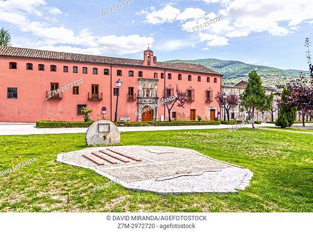 Hospital de San Andrés. Mombeltrán. Barranco de las cinco villas. Valle del Tiétar. Provincia de Ávila, Castile-Leon, Spain