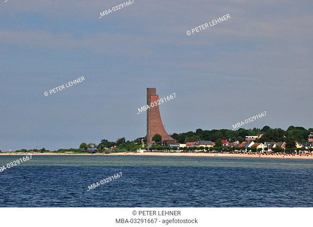 Germany, Schleswig - Holstein, Kiel, Kiel fjord, Laboe, memorial