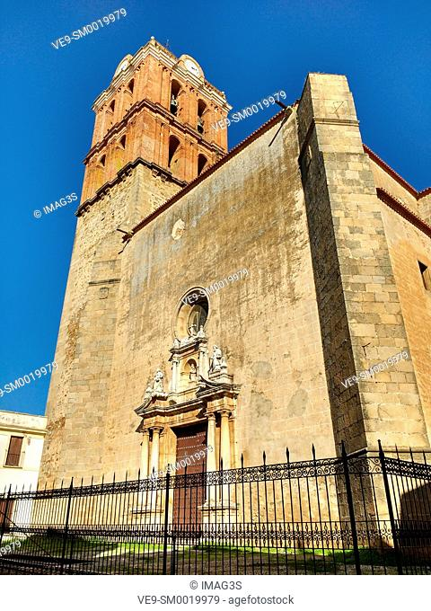 Candelaria collegiate church, Zafra. Badajoz province, Extremadura, Spain