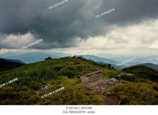 Pisgah National Forest, Great Balsam Mountains, North Carolina, USA