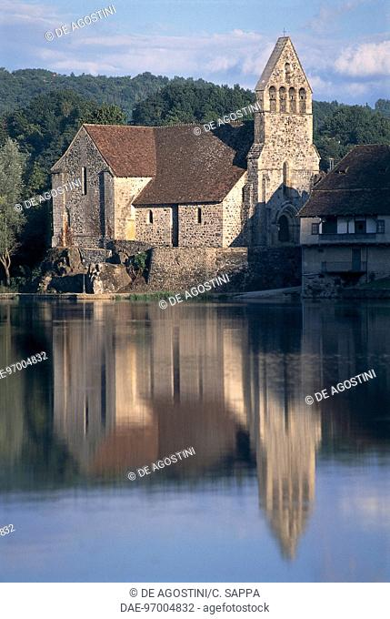 France - Limousin - Beaulieu-sur-Dordogne. Penitents Chapel, 12th century