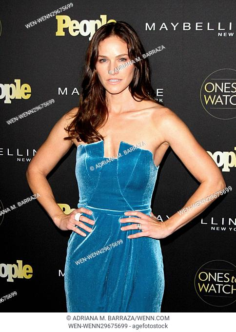 People's One's To Watch Event Celebrating Hollywood's Rising & Brightest Starts held at E.P. & L.P. in Los Angeles Featuring: Kelly Overton Where: Los Angeles