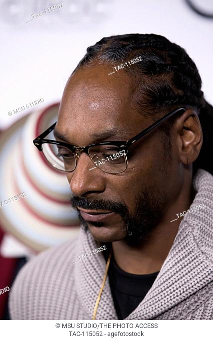Rapper Snoop Dogg attends 2016 All DEF Movie Awards at Lure Nightclub on February 24, 2016 in Los Angeles, California, USA