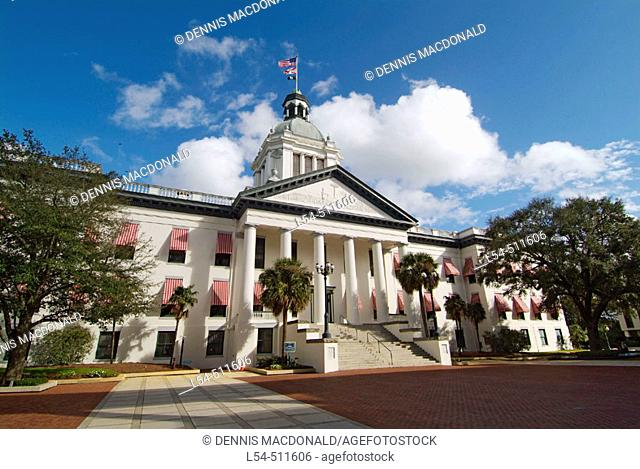 The Old State Capitol Building at Tallahassee Florida FL