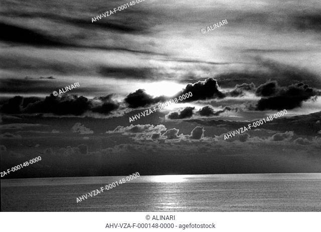 Marine view, shot 1950 ca. by Vannucci Zauli, Giuseppe
