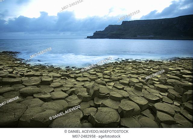 Giant Causeway, Co Antrim, North of Ireland, Europe