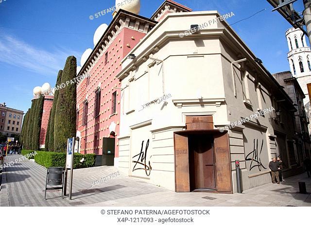 Dali Joies Jewlery Museum. Teatre-Museu Dali. Theatermuseum Dali in Figueres near Barcelona, Spain
