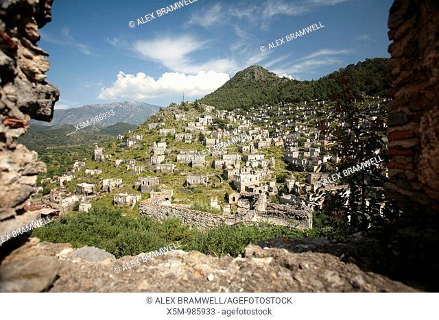 Kaya Koyu abandoned Greek village in Turkey