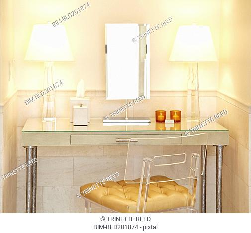 Elegant vanity table
