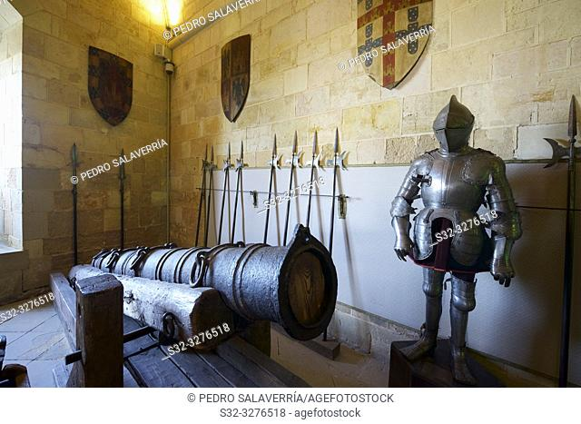 Royal artillery school museum in the Alcazar of Segovia, Castilla Leon, Spain
