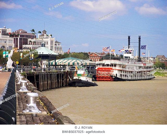 Steamboat, USA, Louisiana, New Orleans