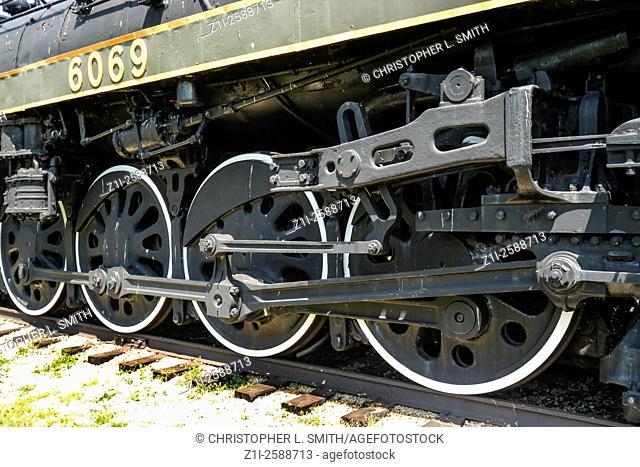 Canadian NR Steam Locomotive 6069