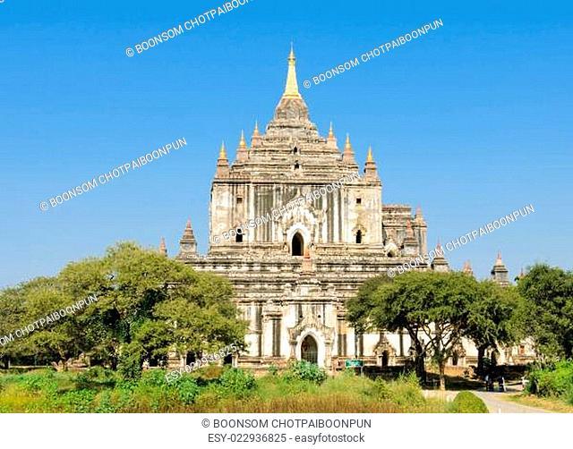 Thatbyinnyu templel is the tallest in Bagan, Myanmar