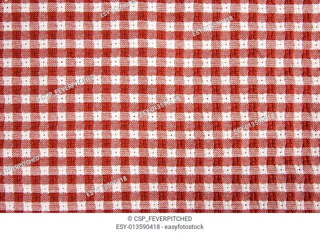 Red & White Gingham Cloth