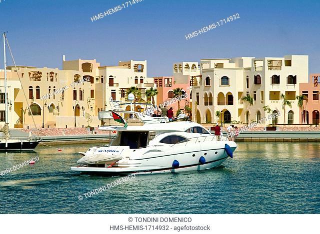 Jordan, Aqaba, Tala Bay Tourist Complex