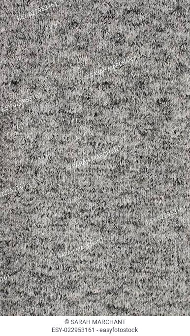 Fine grey knitted fabric