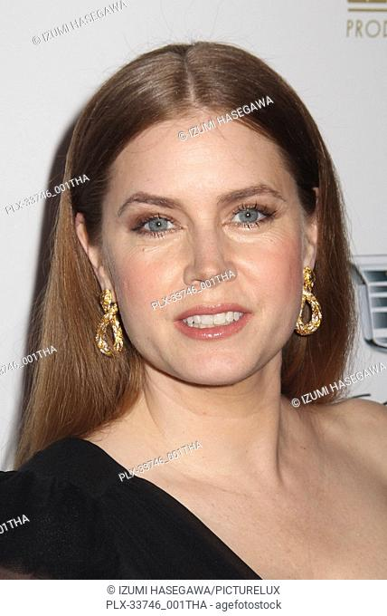 Amy Adams 01/19/2019 The 30th Annual Producers Guild Awards held at The Beverly Hilton in Beverly Hills, CA Photo by Izumi Hasegawa / HNW / PictureLux