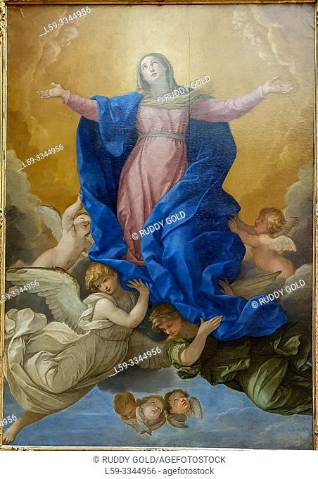 'The Assumption of the Virgin Mary', 1638/39, Guido Reni (1575-1642)