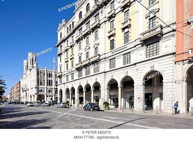 Cagliari, Via Roma, Palazzo di Città