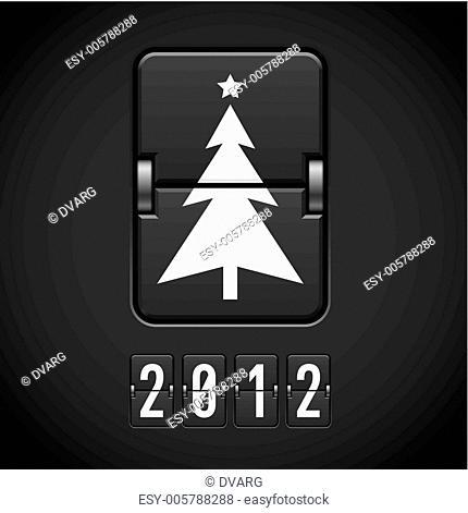 Scoreboard Christmas Tree