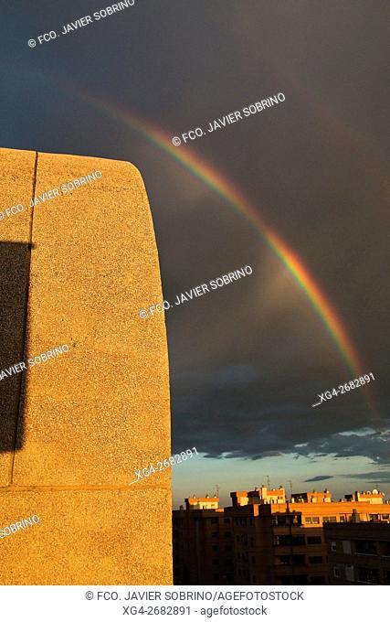 Arco iris en Castellón - Plana Alta - Castellón - Comunidad Valenciana - España - Europa