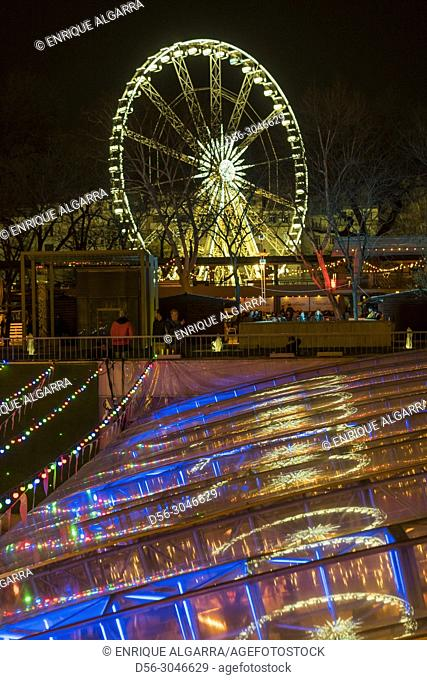 Ferris Wheel, Erzebet park, Budapest