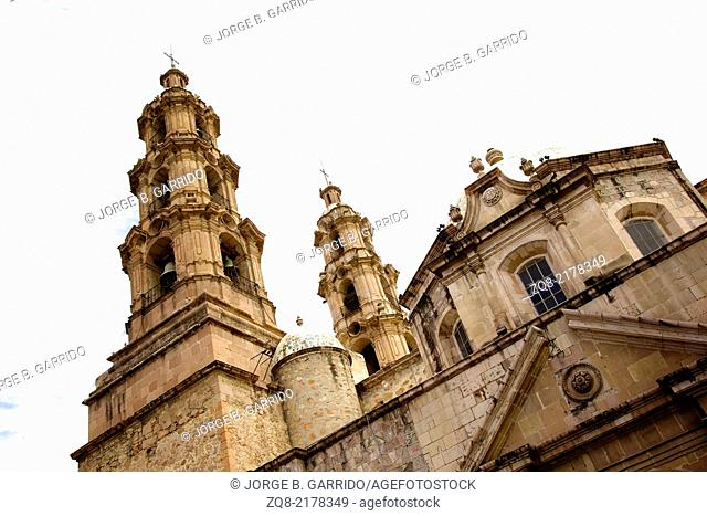 Cathedral in Aguascalientes, Mexico
