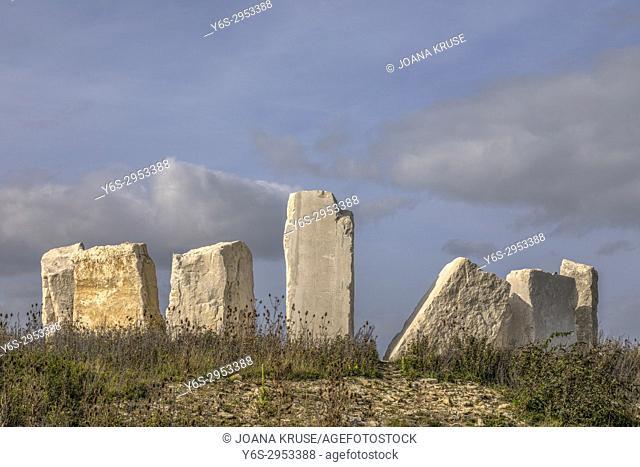 Chesil Beach, Isle of Portland, Dorset, England, United Kingdom
