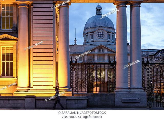Government Buildings, Dublin, Ireland, Europe