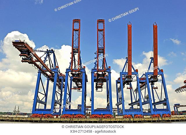 Port of Hamburg, Germany, Europe