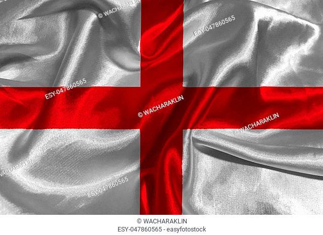 England national flag 3D illustration symbol