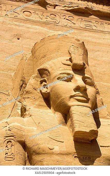 Ramses II, Sun Temple, Abu Simbel, Egypt