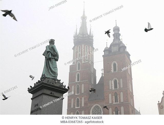 Monument, writer, Adam Mickiewicz