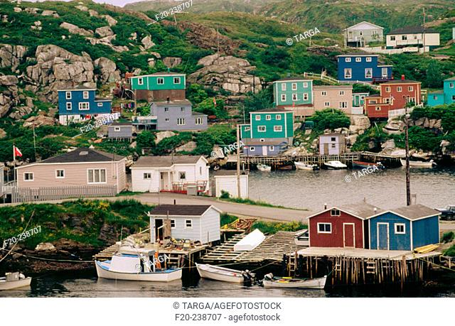 Rose Blance, on the east of Port aux Basques. Newfoundland and Labrador (Terre-Neuve and Labrador). Canada