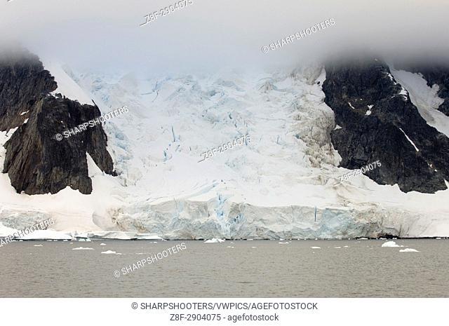 Antarctica, Antarctic Peninsula, Lemaire Channel, Iceberg near Pleneau Island