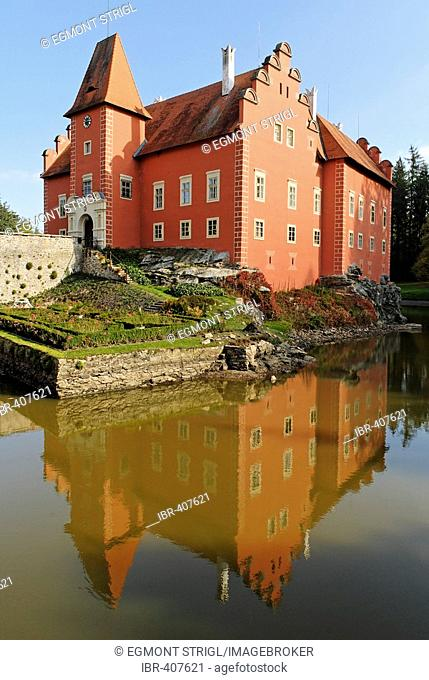 Cervena Lhota castle, south Bohemia, Czech Republic