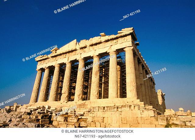 The Parthenon, Acropolis. Athens, Greece