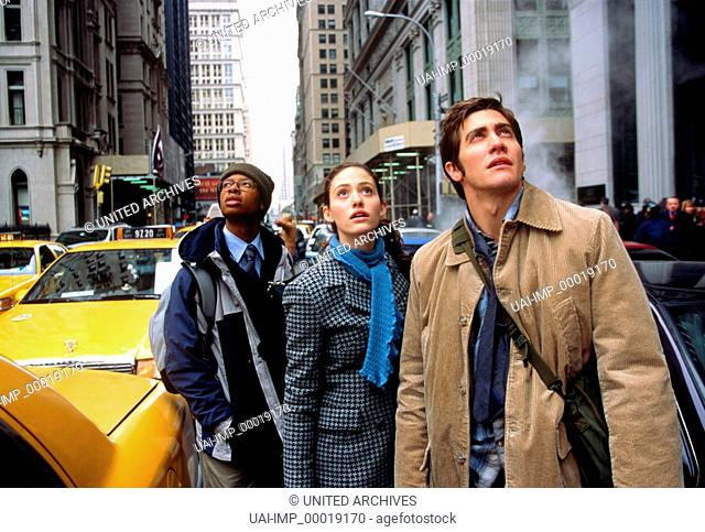 The Day After Tomorrow, (THE DAY AFTER TOMORROW) USA 2004, Regie: Roland Emmerich, EMMY ROSSUM, JAKE GYLLENHAAL, Key: New York, Taxi, Straße, Fußgänger