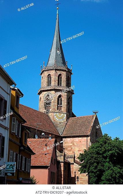 LOCAL CHURCH; SOULTZ HAUT-RHIN, FRANCE; 21/06/2008