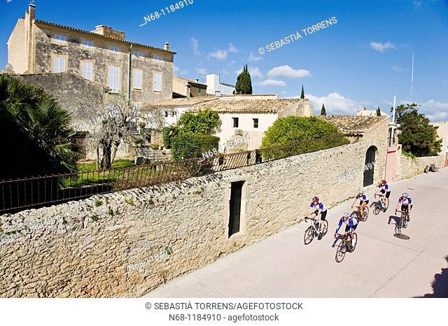 Cycling at Alcudia, Majorca, Spain