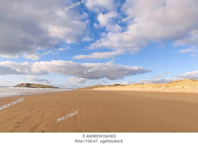 Llangennith Beach, Gower, Wales, United Kingdom, Europe