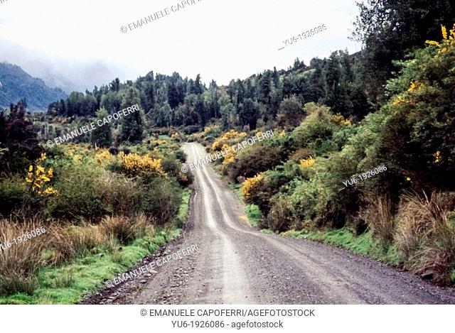 Carretera austral, XI region Aisen del general Carlos Ibanez del Campo, Chile, South America