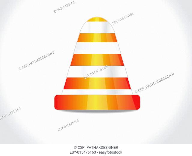 abstract stop cone