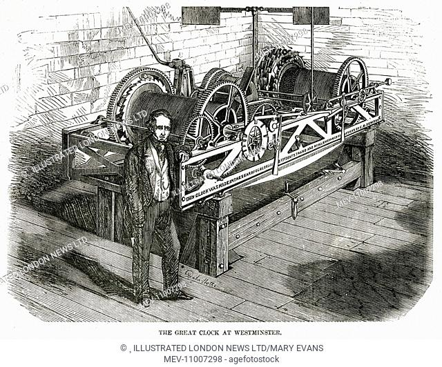 In 1851, Edmund Beckett Denison designed the mechanism for the clock of the Palace of Westminster (the Houses of Parliament in London)