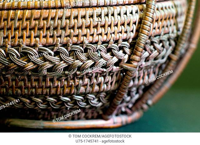 Small Thai woveven basket