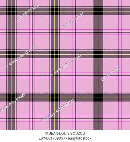 pink scottish tartan