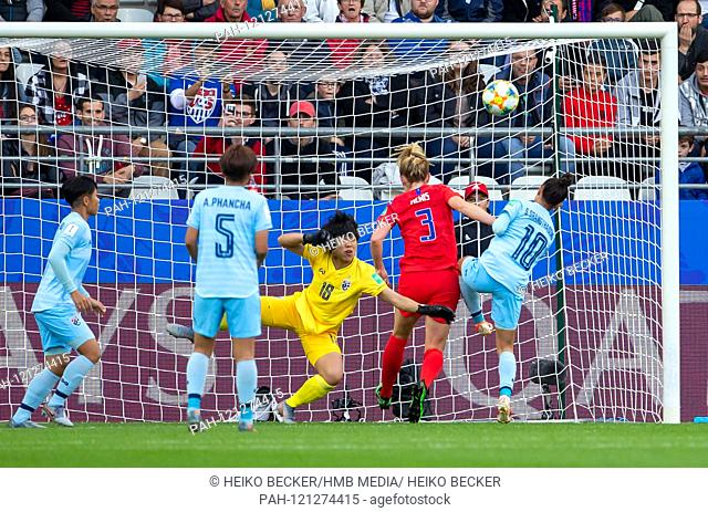 France, Reims, Stade Auguste-Delaune, 11.06.2019, Football - FIFA Women's World Cup - USA - Thailand Photo: vl Wilaiporn Boothduang (Thailand, # 20)
