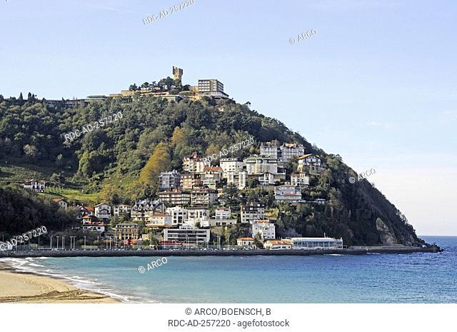 Monte Igueldo San Sebastian province of Gipuzkoa Basque Country Spain Pais Vasco